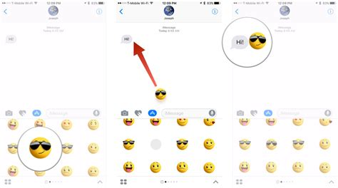 How To Put Stickers On Imessage how to use stickers and apps in imessage for ios 10 imore