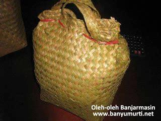 Tas Anyaman Bambu kuliner 92 oleh oleh banjarmasin
