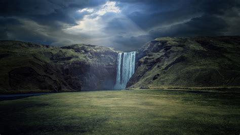 wallpaper 4k landscape waterfall landscape 4k ultra hd wallpaper 3840x2160