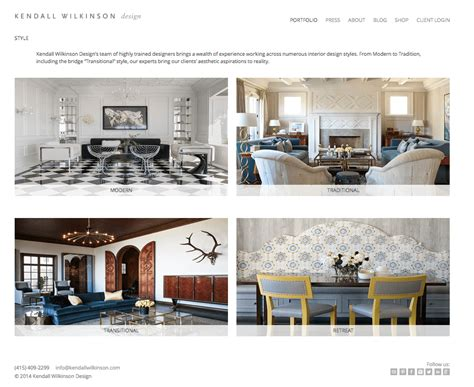 Interior Design Professional Portfolio by Pro Tips To Build A Beautiful Interior Design Website