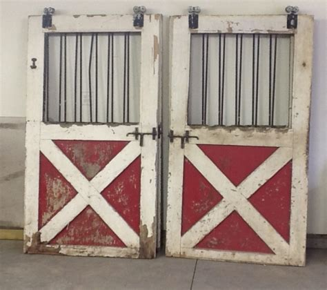 Vintage Barn Stable Doors Architectural Salvage In Salvage Barn Doors