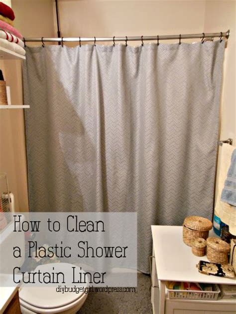 how to clean vinyl shower curtain liner 17 best images about clean bath tubs on pinterest shower