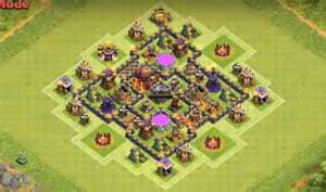 Th6 farming base inside town hall th6 farming base january 2016