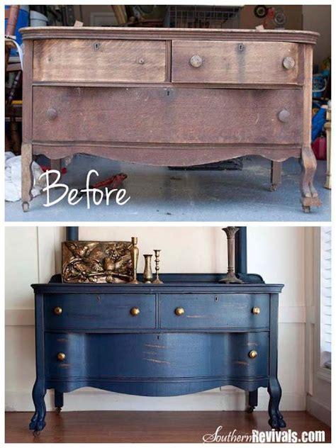 muebles restaurados chalk paint ejemplos antes y despu 233 s de restaurar los muebles