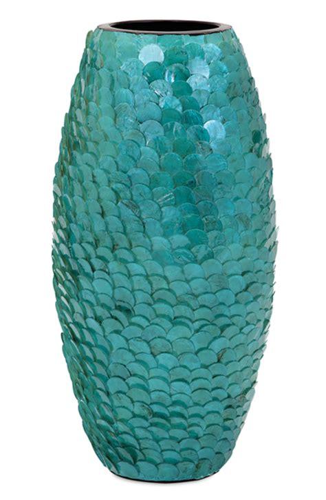 Capiz Vase Turquoise Ceramic Mermaid Vase Bing Images