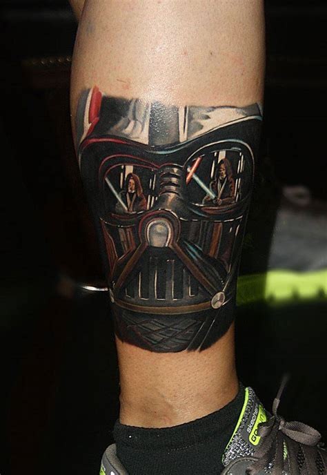 Darth Vader On The Right Leg