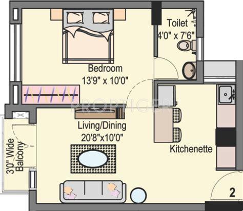 650 sq ft 650 sq ft 1 bhk floor plan image dugar homes lake dugar