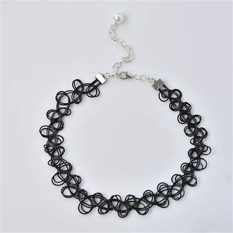how to make cool jewelry how to make a cool black stretchy choker necklace
