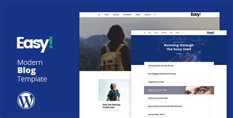wordpress themes not blog easy minimal blog wp theme no warez not nulled
