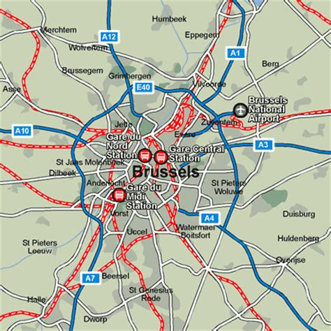map of brussels stations brussels rail maps and stations from european rail guide