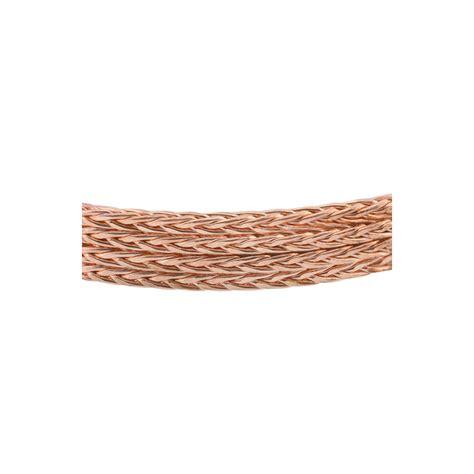 Braid Copper copper artistic wire braid square braided 1 6mm x 0 76 m