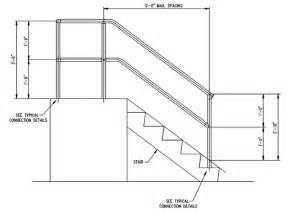 Handrail Stanchion Stair Handrail Height Code Quotes