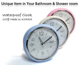 small wall clocks for bathroom bathroom mirror suction clock shower room clock waterproof