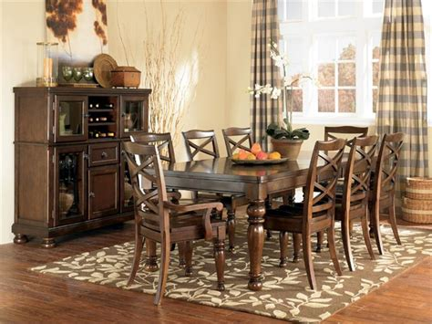 porter dining set by ashley furniture