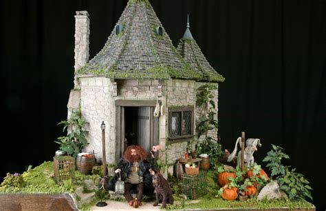 what house is hagrid in miniature hagrid s hut