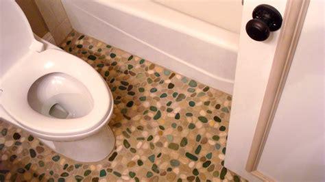 pebble floor bathroom 26 nice pictures and ideas of pebble bath tiles