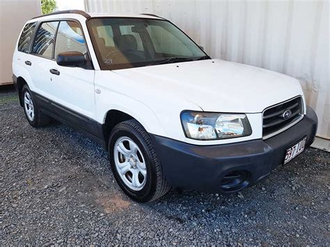 subaru forester awd subaru forester x 2003 white for sale 5 250 used