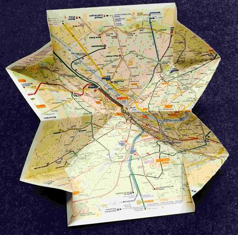 How To Make A Paper Map - folding challenges maths org