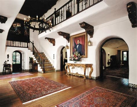 Colonial Style Homes Floor Plans spanish revival architecture in los angeles old house