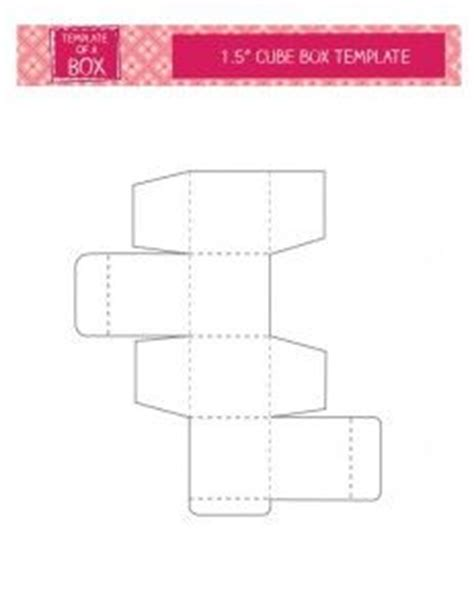 540 card cube template 10 best images about printables templates box on