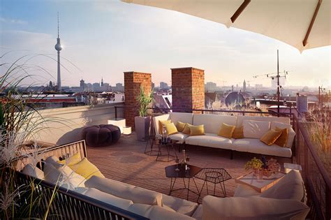loomilux project berlin rooftop on homify - Homify Berlin