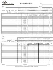 basketball score sheet template excel best photos of basketball score sheets excel basketball