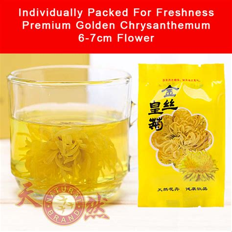 Sale Teh Kembang Chrysanthemun 20 Sachet chrysanthemum tea fresh flowers for wholesale in singapore top grade with best aroma color and