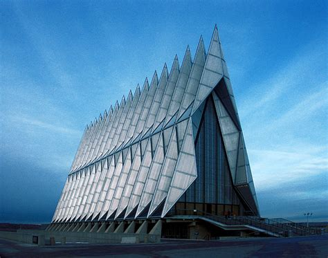 architects colorado springs skidmore owings merrill air academy chapel