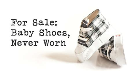 baby shoe sale marketing to baby boomers for sale baby shoes never