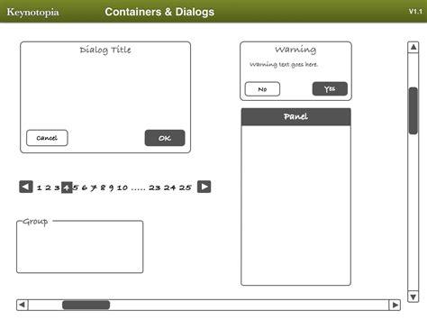 Keynote Prototyping Templates Image Collections Template Design Ideas Keynote Prototyping Templates Free