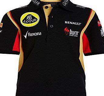 Kaos F1 Lotus Team 1 lotus f1 team polo shirt children formula one 1 lotus
