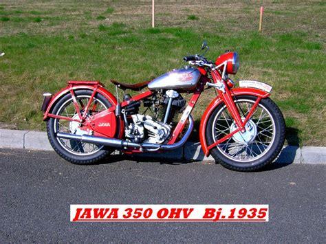 Oldtimer Motorrad Jawa 350 by Quot Jawafreunde Quot Jawa 350 Ohv 1935 Galerie Www