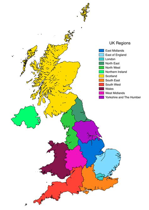 Find In The Uk Plain Uk Map Clipart Best