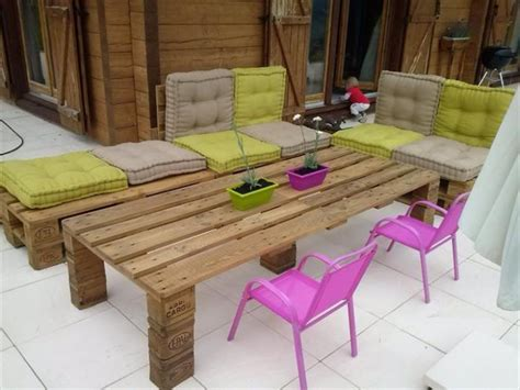 outdoor furniture made from pallets patio furniture made from recycled wooden pallets