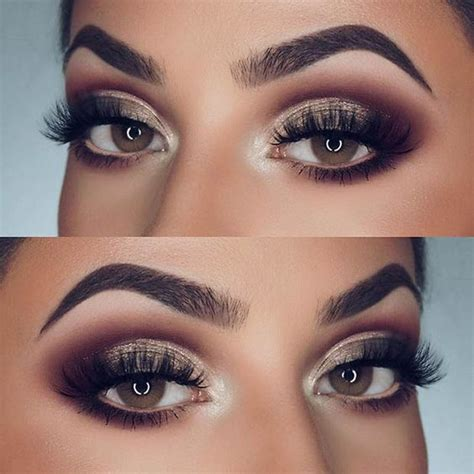 Eyeshadow Wardah Smokey 21 gorgeous makeup ideas for brown smokey eye makeup brown and makeup ideas
