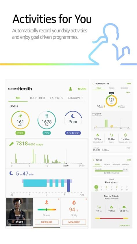 samsung health android apps on play