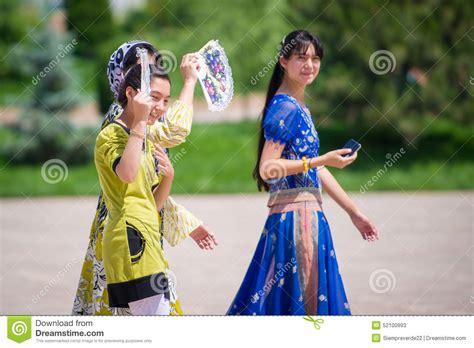 uzbek women stock photos uzbek women stock images alamy people in tashkent uzbekistan editorial stock photo