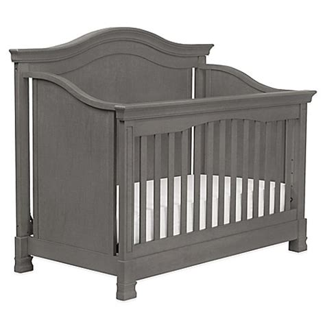 Million Dollar Baby Crib Mattress Buy Million Dollar Baby Classic Louis 4 In 1 Convertible Crib In Manor Grey From Bed Bath Beyond