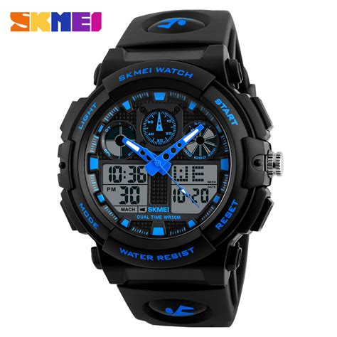 Skmei Jam Tanga Digital Dg1027 skmei jam tangan analog digital pria ad1270 black blue jakartanotebook