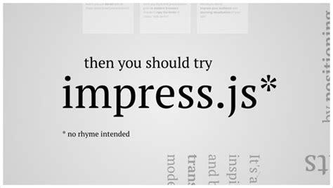 8 Plugins Tutorials To Create Unique Presentational Scrolling Website Jayhan Loves Design Impress Js Templates