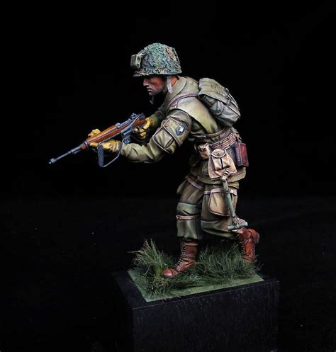 Painting 00 Scale Figures by 101st Airborne Division Quot Screaming Eagles Quot Ww Ii