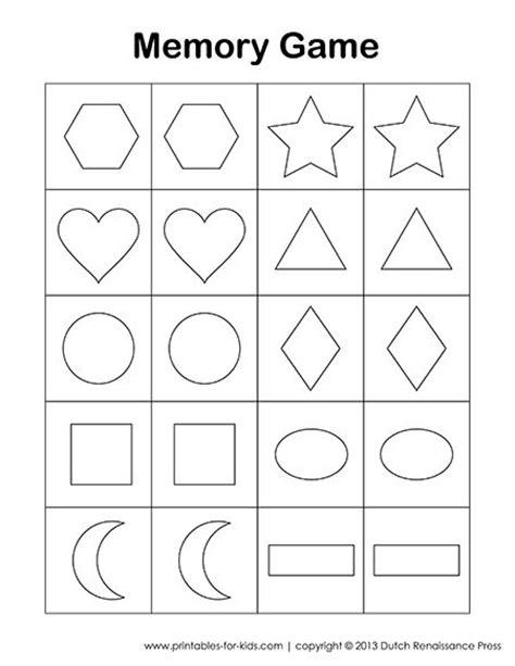 printable memory games for kindergarten this is a free printable memory game for kids there is a