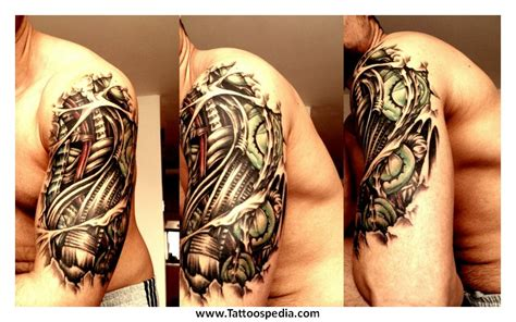 biomechanical tattoo terminator biomechanical tattoos