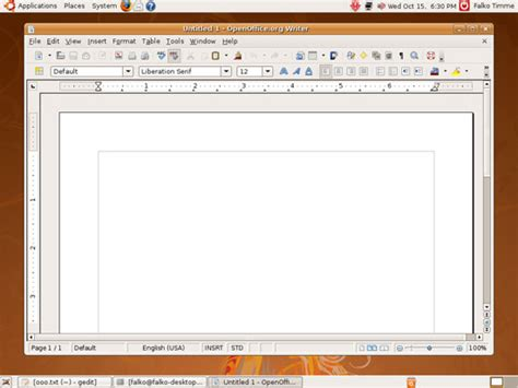 how to install openoffice on ubuntu how to install openoffice org 3 0 0 on ubuntu 8 04 page