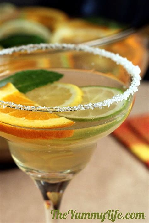 sparkling margarita sangria party cocktails recipe water coolers beautiful and the pitcher