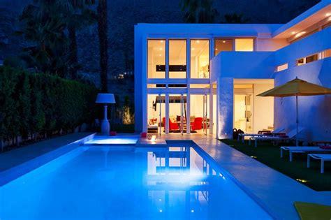 pool houses where design and divine meet california el portal in palm springs california