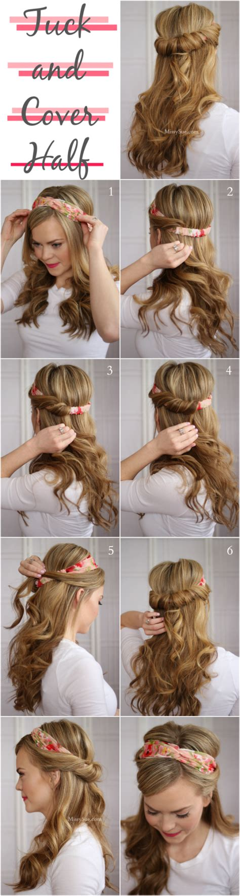 11 easy hairstyles step by step hairstyles for all 18 easy step by step tutorials for perfect hairstyles