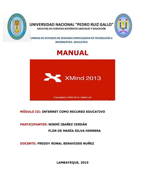 tutorial xmind pdf calam 233 o manual xmind