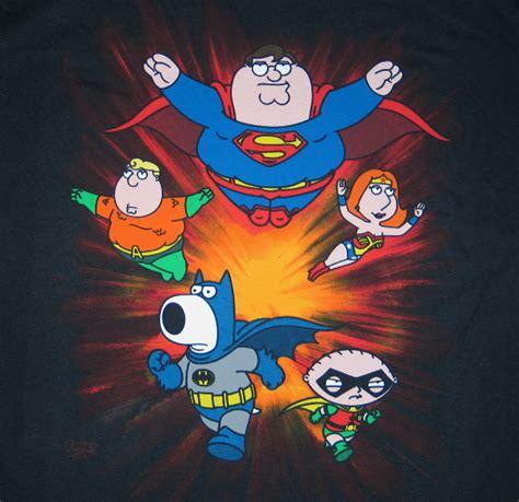 Tshirt Superman Family Pcs the family crew as dc heroes t shirt