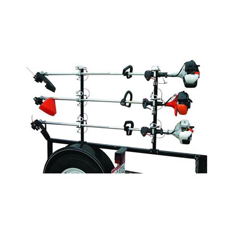 Weedeater Rack by Buyers Lt13 3 Position Lockable Trimmer Rack With Channel